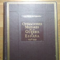 Militaria: OPERACIONES MILITARES DE LA GUERRA DE ESPAÑA (1936-1939) (REPÚBLICA GUERRA CIVIL, FRANQUISMO). Lote 182706506