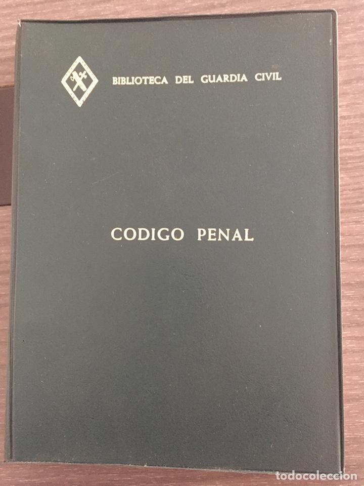 CÓDIGO PENAL . BIBLIOTECA DEL GUARDIA CIVIL (Militar - Libros y Literatura Militar)