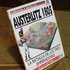 Militaria: AUSTERLIZ 1805,DAVID G. CHANDLER,OSPREY MILITARY,1994.. Lote 182969485