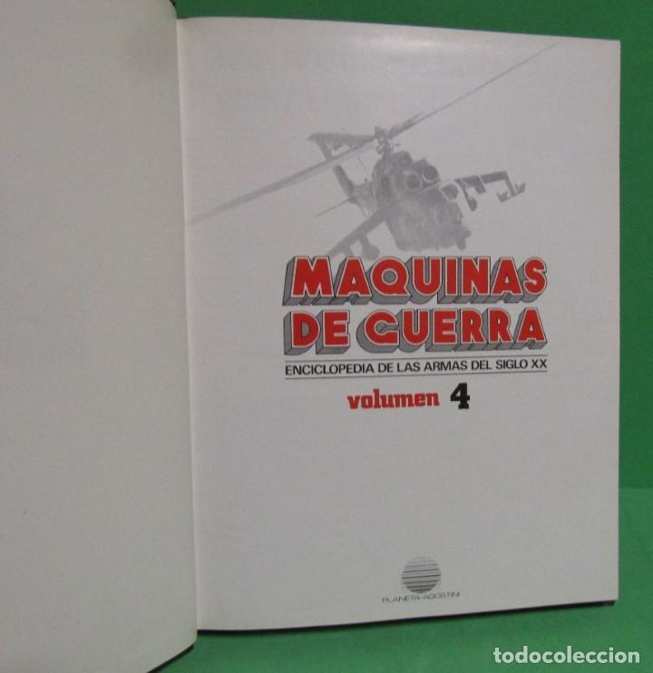 Militaria: MAQUINAS DE GUERRA VOLUMEN 4 PLANETA - AGOSTINI VER IMAGENES Y SUMARIO EXCELENTE ESTADO - Foto 2 - 183182467
