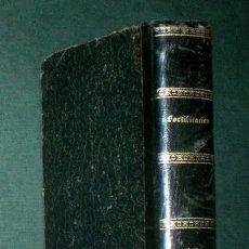 Militaria: SANTIAGO MORENO Y TOVILLAS Y MANUEL ARGÜELLES Y FRERA: TRATADO DE FORTIFICACION I Y II. 1877. Lote 183274328