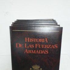 Militaria: HISTORIA DE LAS FUERZAS ARMADAS, 5 TOMOS. Lote 183371846