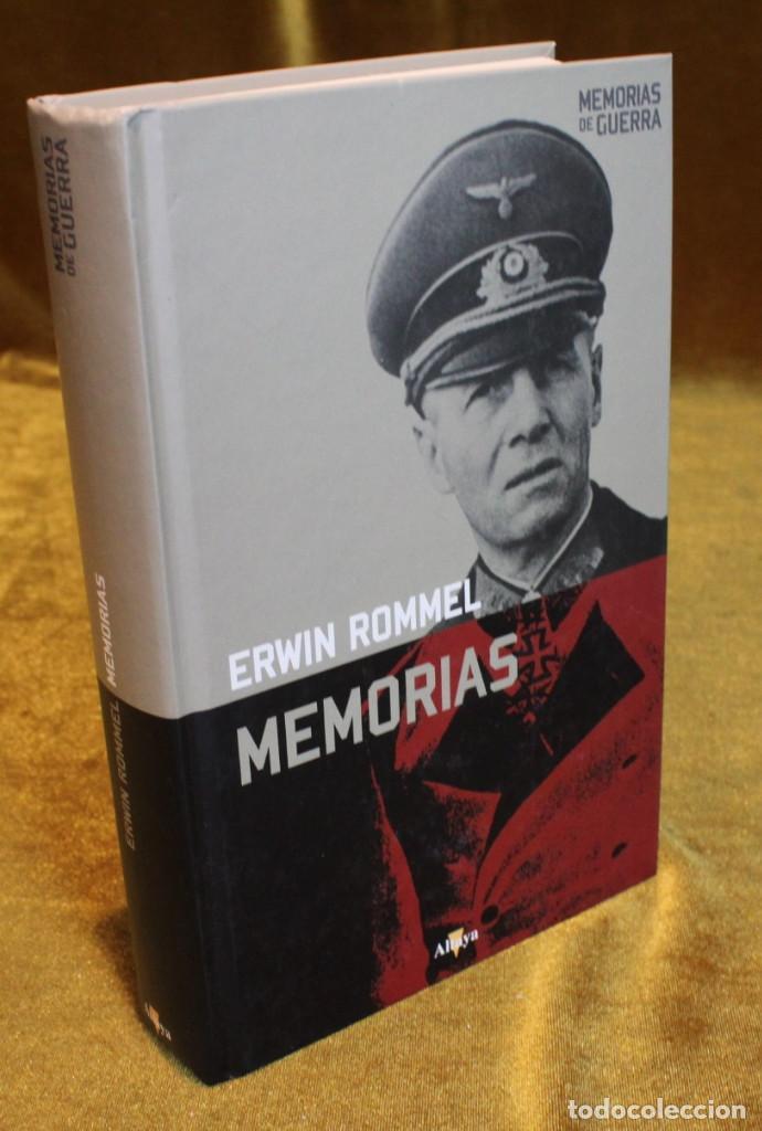 ROMMEL MEMORIAS,EDITORIAL ALTAYA,2008. (Militar - Libros y Literatura Militar)