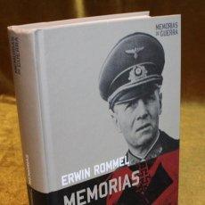 Militaria: ROMMEL MEMORIAS,EDITORIAL ALTAYA,2008.. Lote 183522938