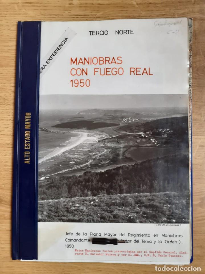 EJERCICIOS INFANTERÍA DE MARINA FERROL AÑO 1950 (Militar - Libros y Literatura Militar)