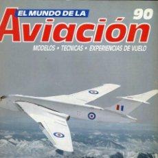 Militaria: EL MUNDO DE LA AVIACION N 90 PLANETA -AGOSTINI AÑO 1989. Lote 183846153