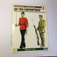 Militaria: LIBRO EJERCITOS Y BATALLAS LOS OLD CONTEMPTIBLES Nº 8 - OSPREY . Lote 183934221