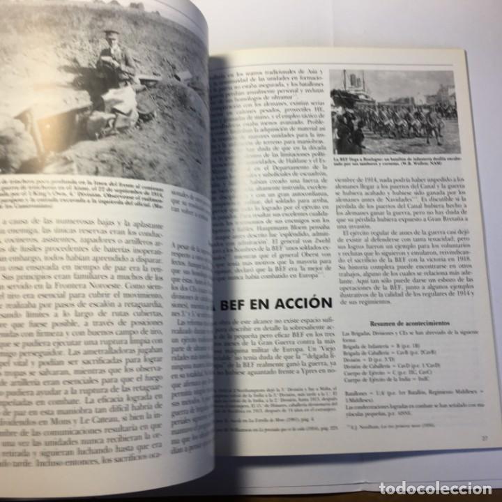 Militaria: LIBRO EJERCITOS Y BATALLAS LOS OLD CONTEMPTIBLES Nº 8 - OSPREY - Foto 2 - 183934221
