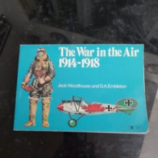 Militaria: THE WAR IN THE AIR 1914-1918. Lote 183993262