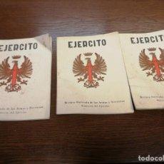 Militaria: EJERCITO REVISTA ILUSTRADA ARMAS Y SERVICIOS AÑO 1968 ABRIL JUNIO Y JULIO, 339-341-342. Lote 184023618