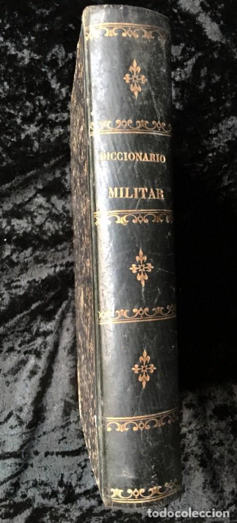 DICCIONARIO MILITAR - 1863 - J.D'W.M. (Militar - Libros y Literatura Militar)