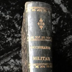 Militaria: DICCIONARIO MILITAR - 1863 - J.D'W.M. . Lote 184053332