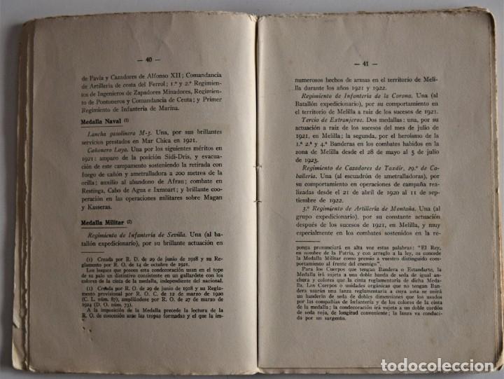 Militaria: PATRIA - TENIENTE CORONEL GARCÍA PÉREZ - IMPRENTA DE ARMAS Y LETRAS - 8º DE CABALLERÍA - Foto 7 - 184108397