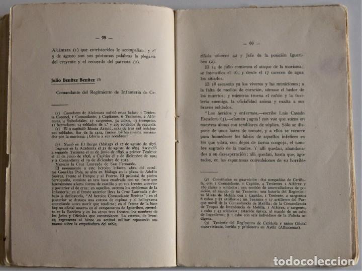 Militaria: PATRIA - TENIENTE CORONEL GARCÍA PÉREZ - IMPRENTA DE ARMAS Y LETRAS - 8º DE CABALLERÍA - Foto 8 - 184108397