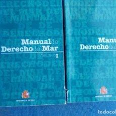 Militaria: MANUAL DE DERECHOS DEL MAR MINISTERIO DE DEFENSA. Lote 184335435