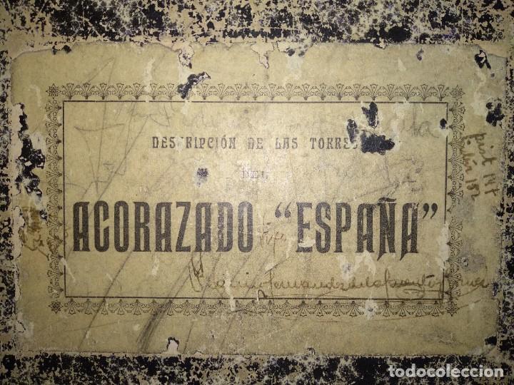 MANUAL TORRE ACORAZADO ESPAÑA (Militar - Libros y Literatura Militar)