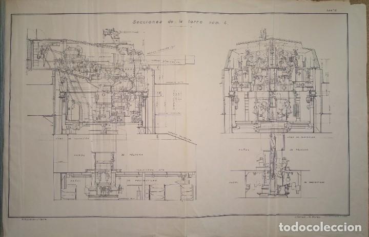 Militaria: manual torre acorazado españa - Foto 9 - 184837330