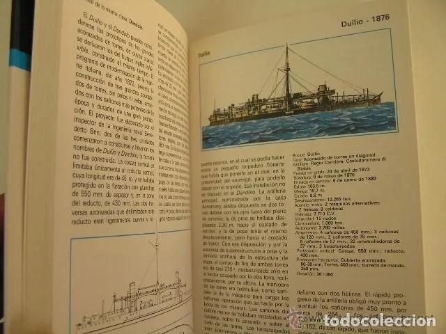Militaria: acorazados de todo el mundo,galuppini,1978,espasa calpe ed,ref militar bs2 - Foto 4 - 184864415