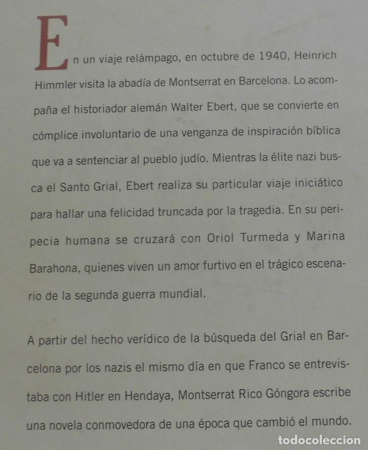 Militaria: LA ABADÍA PROFANADA. MONTSERRAT RICO GÓNGORA. LIBRO NUEVO - Foto 2 - 185660583