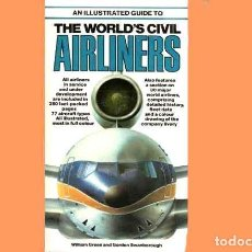 Militaria: LIBRO INGLÉS: AN ILLUSTRATED GUIDE WORLD'S CIVIL AIRLINERS DE SALAMANDER BOOKS (OCASIÓN, USADO). Lote 186252173