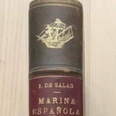 Militaria: MARINA ESPAÑOLA DE LA EDAD MEDIA - F. JAVIER DE SALAS. Lote 187125686