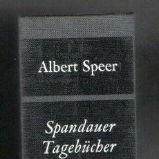 Militaria: DIARIO DE ALBERT SPEER FIRMADO. Lote 188429406