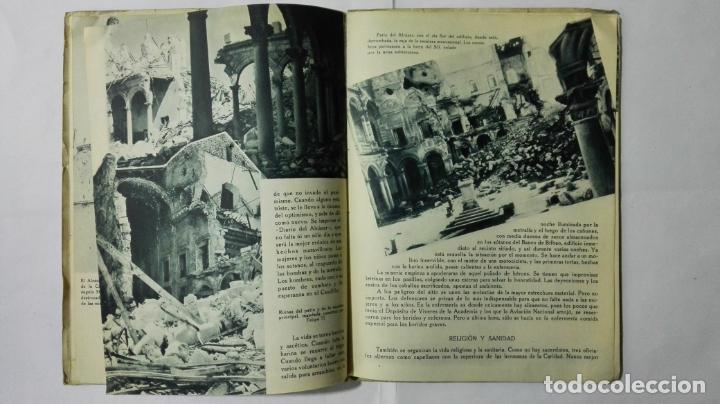 Militaria: EL ALCAZAR DE TOLEDO, PRIMERA RESISTENCIA - EL ASEDIO - FOTOGRAFIAS, AÑO 1939, EDITORA NACIONAL - Foto 5 - 188478290
