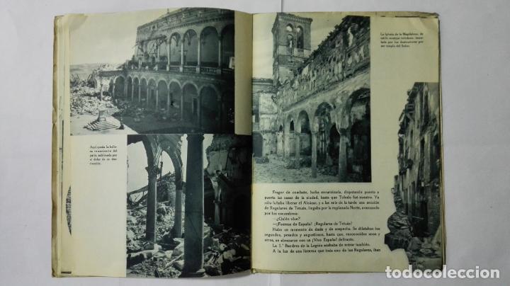 Militaria: EL ALCAZAR DE TOLEDO, PRIMERA RESISTENCIA - EL ASEDIO - FOTOGRAFIAS, AÑO 1939, EDITORA NACIONAL - Foto 7 - 188478290