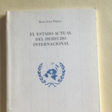 Militaria: EL ESTADO ACTUAL DEL DERECHO INTERNACIONAL. Lote 189202620