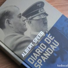 Militaria: DIARIO DE SPANDAU. ALBERT SPEER. SEGUNDA GUERRA MUNDIAL. EXCEPCIONAL LIBRO.. Lote 190351098