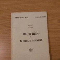 Militaria: MEDICINA PREVENTIVA - ACADEMIA GENERAL MILITAR. Lote 190540620
