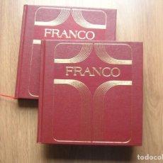 Militaria: FRANCO. OBRA COMPLETA EN DOS TOMOS. CAUDILLO. GENERALISIMO.. Lote 191033882