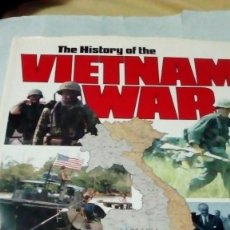 Militaria: LIBRO THE HISTORY OF THE VIETNAM WAR. Lote 191691215