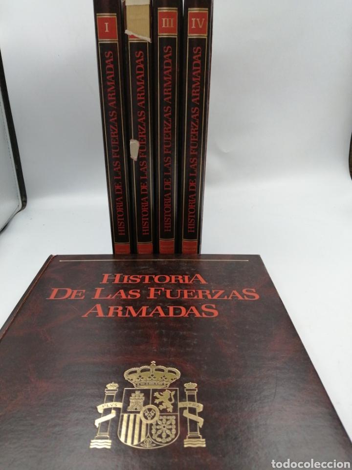 HISTORIA DE LAS FUERZAS ARMADAS 5 TOMOS (Militar - Libros y Literatura Militar)