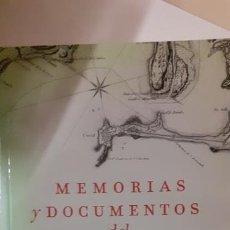 Militaria: MEMORIAS Y DOCUMENTOS DEL ASEDIO DE CADIZ 1810-1812. Lote 192895363