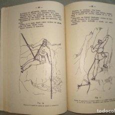 Militaria: TECNICA DE LA ESCALADA Y DEL ESQUI 1947. Lote 194219880