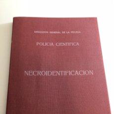 Militaria: POLICÍA CIENTÍFICA NECROIDENTIFICACIÓN. Lote 194221063