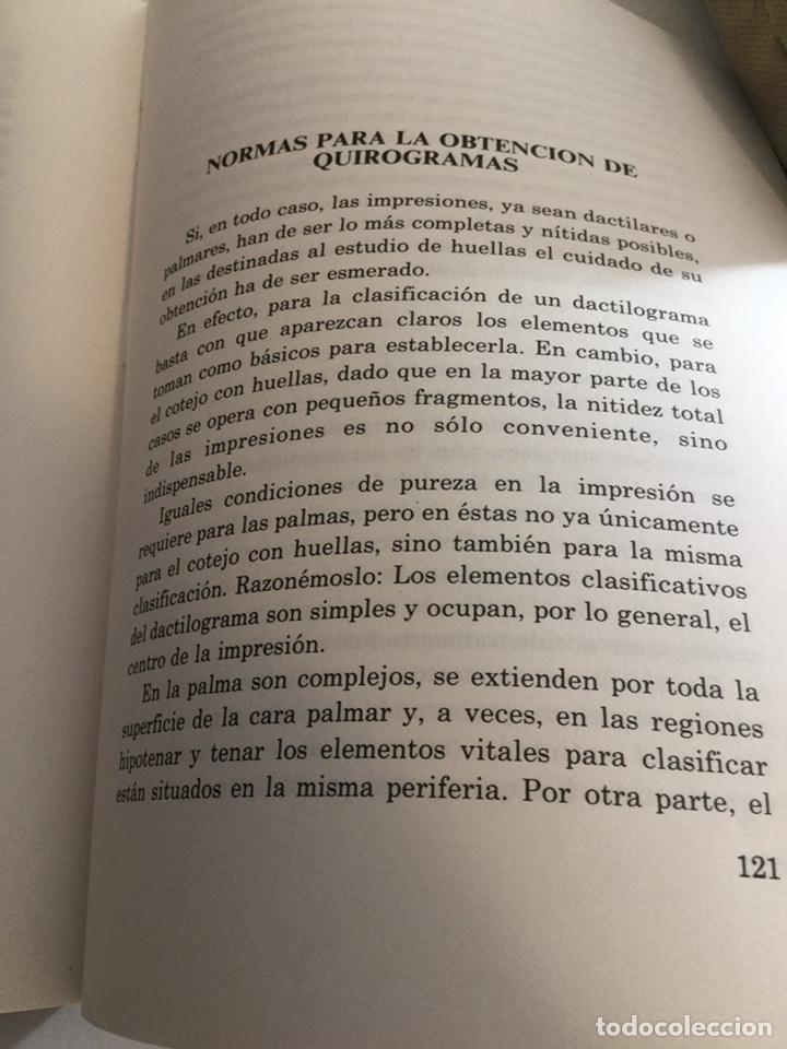 Militaria: Policía científica Quiroscopia - Foto 5 - 194222082