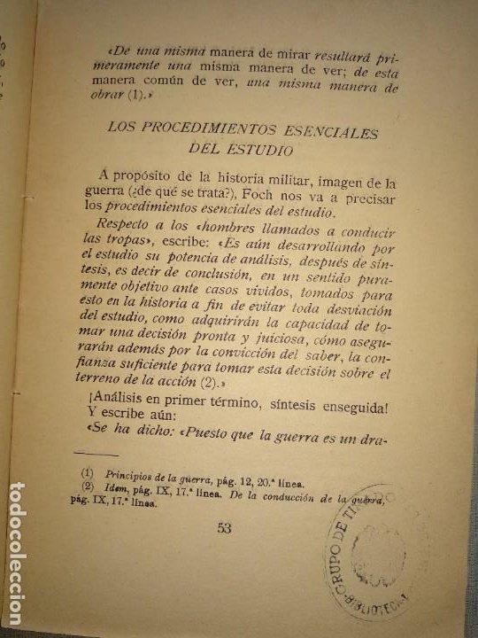 Militaria: la gran leccion leyendo los libros de Foch - Foto 4 - 194222637