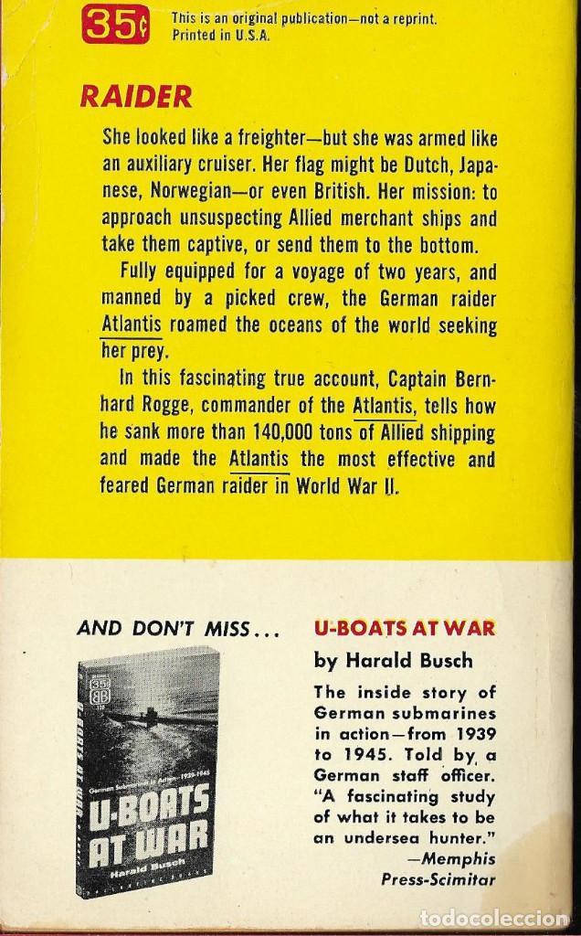Militaria: German raider ATLANTIS, historia de este famoso buque corsario aleman,ingles - Foto 2 - 194224596