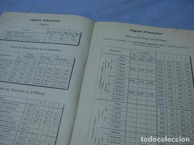 Militaria: * Lote 2 antiguo catalogo de medallas militares de años 20, extranjeros. ZX - Foto 4 - 194237197
