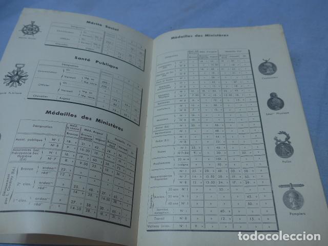 Militaria: * Lote 2 antiguo catalogo de medallas militares de años 20, extranjeros. ZX - Foto 6 - 194237197