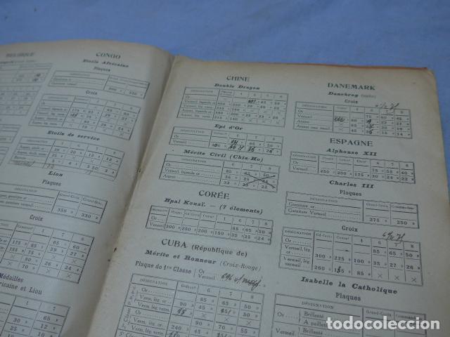 Militaria: * Lote 2 antiguo catalogo de medallas militares de años 20, extranjeros. ZX - Foto 10 - 194237197