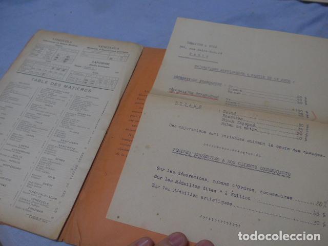 Militaria: * Lote 2 antiguo catalogo de medallas militares de años 20, extranjeros. ZX - Foto 12 - 194237197