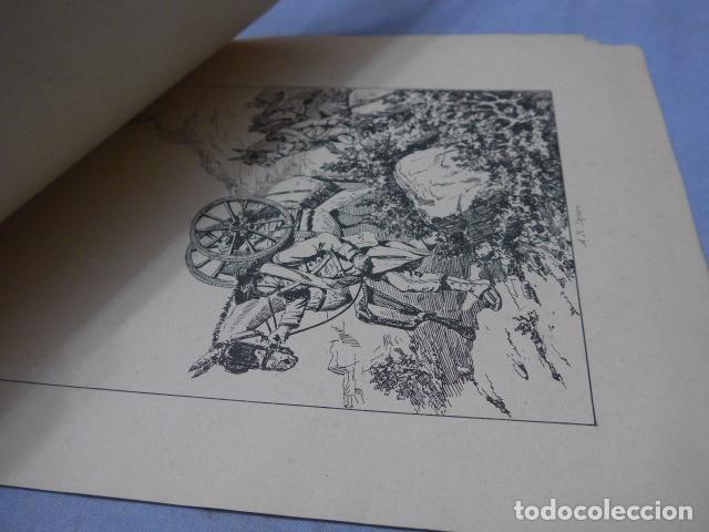 Militaria: * Antiguo album de campaña de laminas militares de 1881, original, guerra carlista. ZX - Foto 8 - 194239981