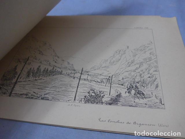 Militaria: * Antiguo album de campaña de laminas militares de 1881, original, guerra carlista. ZX - Foto 10 - 194239981