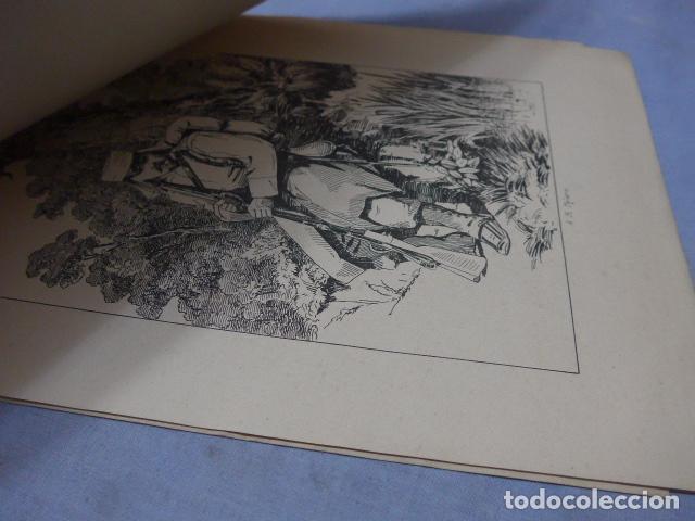 Militaria: * Antiguo album de campaña de laminas militares de 1881, original, guerra carlista. ZX - Foto 11 - 194239981