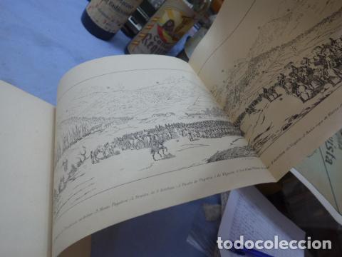 Militaria: * Antiguo album de campaña de laminas militares de 1881, original, guerra carlista. ZX - Foto 12 - 194239981