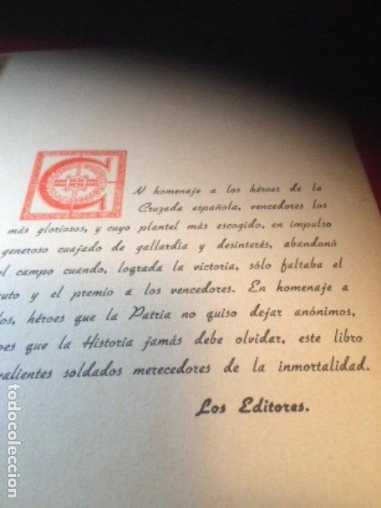Militaria: España Heroica 1a ediciòn piel Sancho González - Foto 5 - 194240206