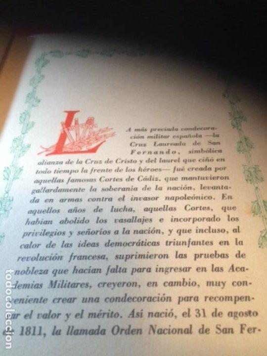 Militaria: España Heroica 1a ediciòn piel Sancho González - Foto 9 - 194240206
